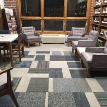 Mosaic Cut Carpet Tile